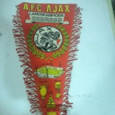 Collectionnisme sportif: AFC AJAX PENNANT BANDEROLA FUSSBALL FOOTBALL FUTBOL . Lote 172328985