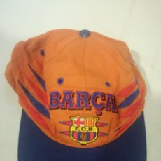 Collectionnisme sportif: FC BARCELONA VINTAGE CAP GORRA RACING MOTOGP MOTO TEAM RALLY SPORT F1. Lote 172329777