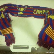 Coleccionismo deportivo: 2009 FC BARCELONA SCARF BUFANDA FOOTBALL FUTBOL SCIARPA . Lote 172329982