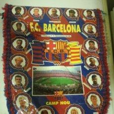 Coleccionismo deportivo: FC BARCELONA DREAM TEAM FUTBOL PENNANT BANDERIN FOOTBALL. Lote 210371585