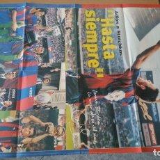 Coleccionismo deportivo: 9 PÓSTERS FÚTBOL CLUB BARCELONA AÑOS 90. Lote 172949617
