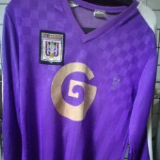 Coleccionismo deportivo: ANDERLECHT 1980 VINTAGE BELGIQUE L CAMISETA FUTBOL FOOTBALL SHIRT . Lote 173014887