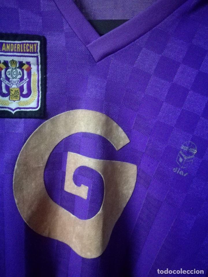 Coleccionismo deportivo: ANDERLECHT 1980 VINTAGE BELGIQUE L camiseta futbol football shirt - Foto 2 - 173014887