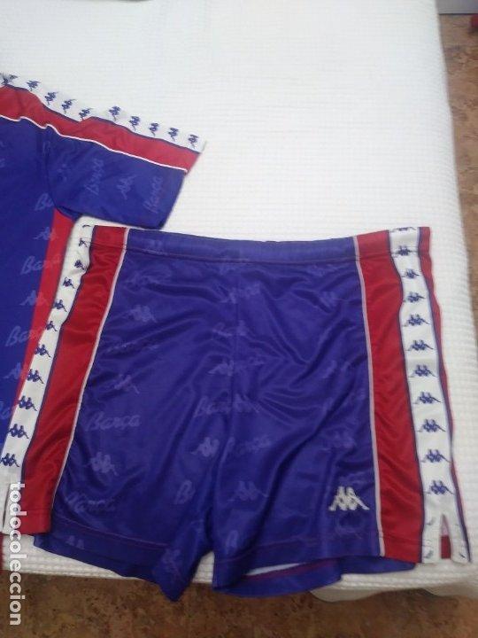 Coleccionismo deportivo: Camiseta Barcelona Años 90 Kappa y pantalón - Foto 2 - 173330368