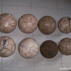 Coleccionismo deportivo: LOTE DE 8 BALONES DE FUTBOL SALA. Lote 173386199