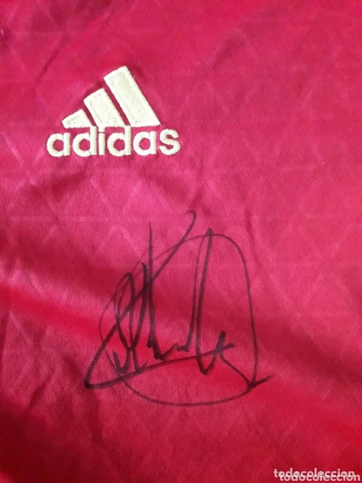 Coleccionismo deportivo: Camiseta de la selección española firmada por Lopetegui - Foto 2 - 173672317
