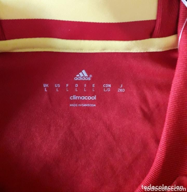 Coleccionismo deportivo: Camiseta de la selección española firmada por Lopetegui - Foto 4 - 173672317