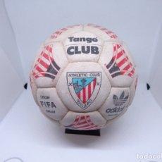 Coleccionismo deportivo: ¡¡¡ RARISIMO BALON TANGO ADIDAS DEL ATHLETIC CLUB DE BILBAO CON FIRMAS UNICO EN EL MUNDO !!!. Lote 174054838