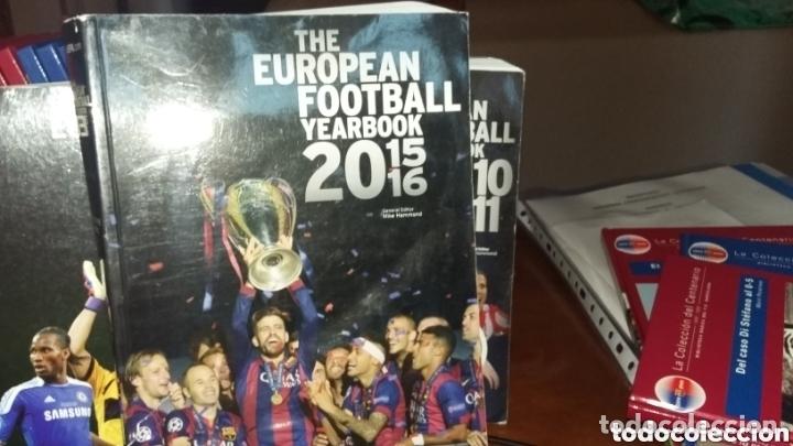ANUARIO THE EUROPEAN FOOTBALL YEARBOOK 2015 -16 (Coleccionismo Deportivo - Material Deportivo - Fútbol)