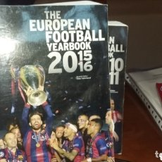 Coleccionismo deportivo: ANUARIO THE EUROPEAN FOOTBALL YEARBOOK 2015 -16. Lote 174272018