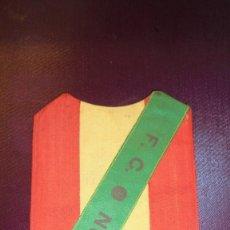 Coleccionismo deportivo: ANTIGUO ESCUDO BORDADO DE CAMISETA F.C. NORTE PRINCIPIO DE SIGLO XX AÑOS 15/20 PERFECTO ESTADO . . Lote 175694594