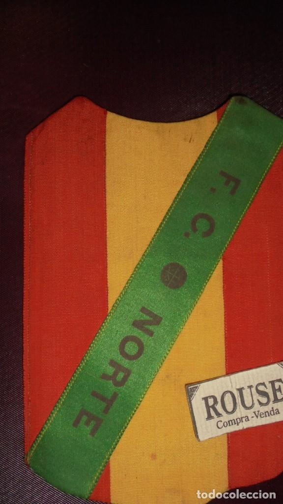 Coleccionismo deportivo: ANTIGUO ESCUDO BORDADO DE CAMISETA F.C. NORTE PRINCIPIO DE SIGLO XX AÑOS 15/20 PERFECTO ESTADO . - Foto 2 - 175694594