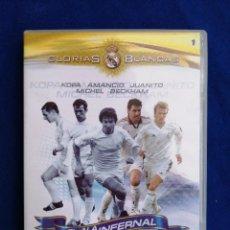 Coleccionismo deportivo: D.V.D. REAL MADRID...GLORIAS BLANCAS...EL ALA INFERNAL VOL.1. Lote 176879112