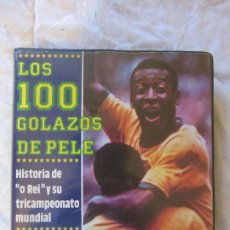 Coleccionismo deportivo: LOS 100 GOLAZOS DE PELE DOBLE VHS. Lote 177456623