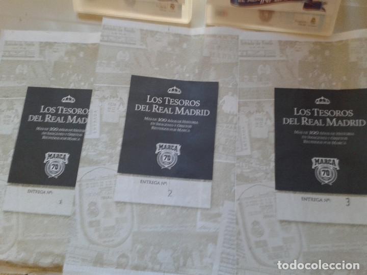 Coleccionismo deportivo: COLECCION COMPLETA REAL MADRID . MATERIAL UNICO Y DIFICIL. VARIADO. - Foto 3 - 177517693