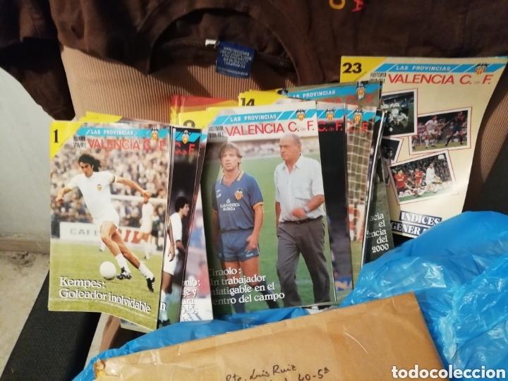 Coleccionismo deportivo: Colección completa Valencia cf. Material variado y interesante. - Foto 6 - 177518917