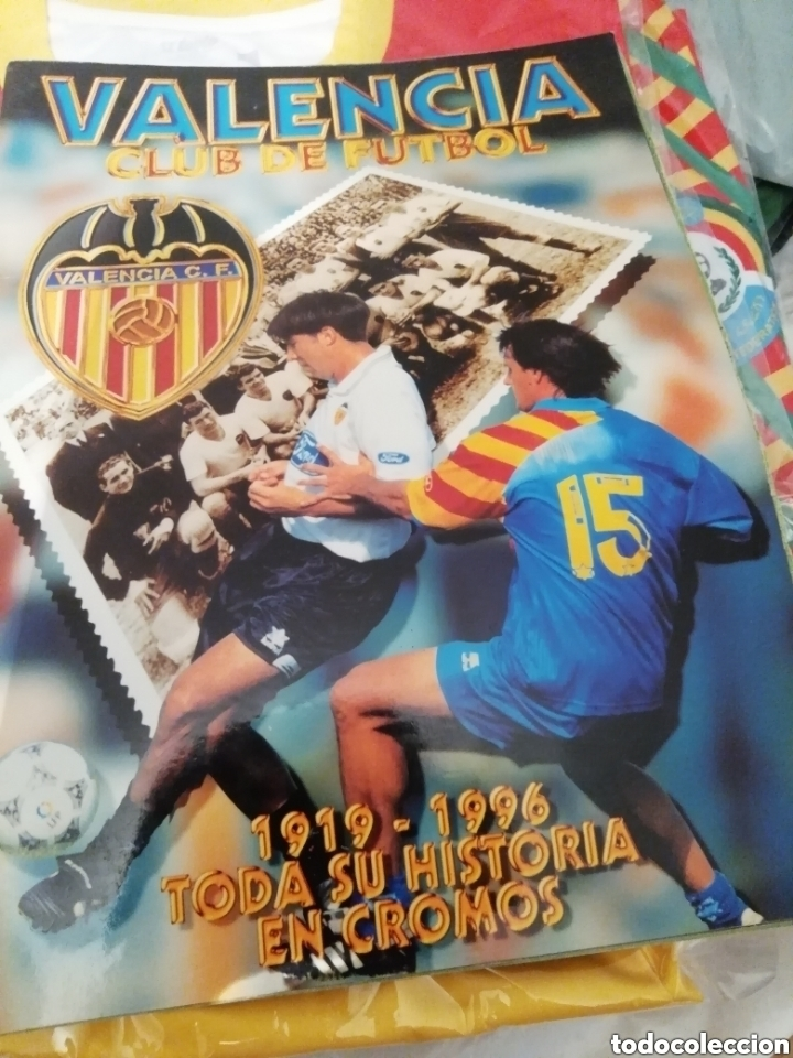 COLECCIÓN COMPLETA VALENCIA CF. MATERIAL VARIADO Y INTERESANTE. (Coleccionismo Deportivo - Material Deportivo - Fútbol)