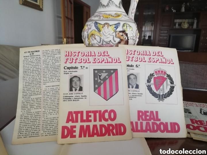 Coleccionismo deportivo: Colección completa atlético Madrid. Material fútbol diverso. - Foto 2 - 177519235