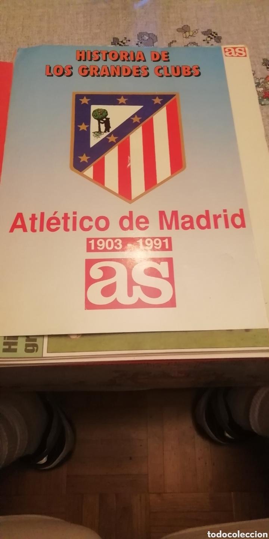 Coleccionismo deportivo: Colección completa atlético Madrid. Material fútbol diverso. - Foto 5 - 177519235