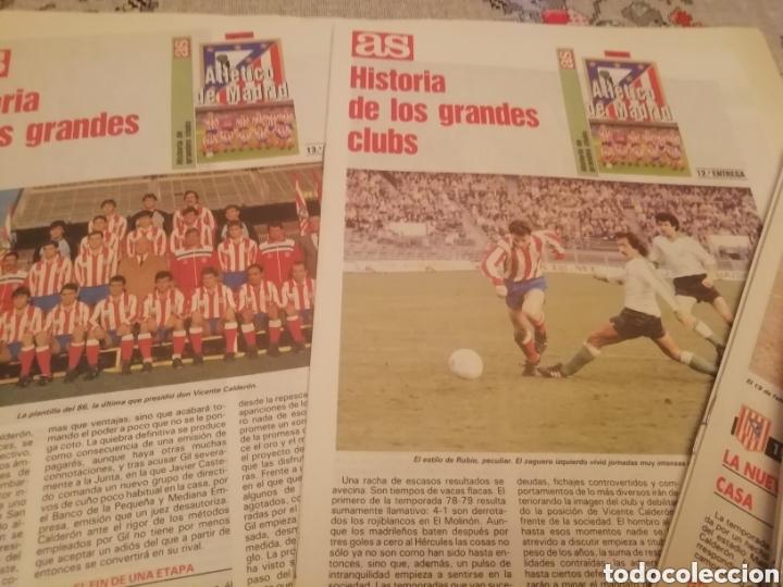 COLECCIÓN COMPLETA ATLÉTICO MADRID. MATERIAL FÚTBOL DIVERSO. (Coleccionismo Deportivo - Material Deportivo - Fútbol)