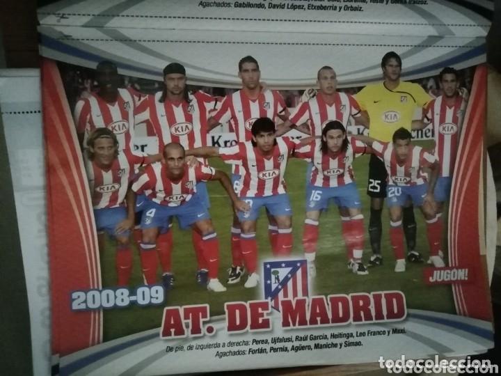 COLECCIÓN POSTERS 1 DIVISIÓN EL JUGON. 2008 - 2009 COMPLETA. (Coleccionismo Deportivo - Material Deportivo - Fútbol)