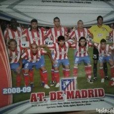 Coleccionismo deportivo: COLECCIÓN POSTERS 1 DIVISIÓN EL JUGON. 2008 - 2009 COMPLETA.. Lote 177690750