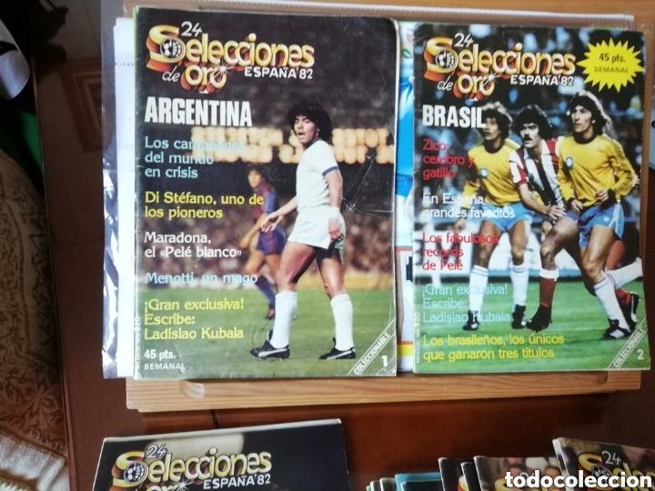 Coleccionismo deportivo: Mundial fútbol Brasil 2014. Lote 40 videos dvds - Foto 3 - 177690909