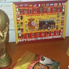 Coleccionismo deportivo: SELECCIÓN ESPAÑOLA. LOTE HISTÓRICO DE FÚTBOL.. Lote 178160509