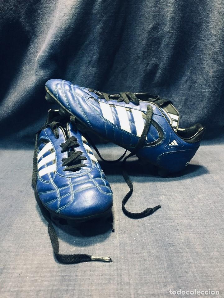 Pertenecer a Hospitalidad vistazo  botas de fútbol marca adidas color azul tacos c - Buy Old Football  Equipment at todocoleccion - 178921570