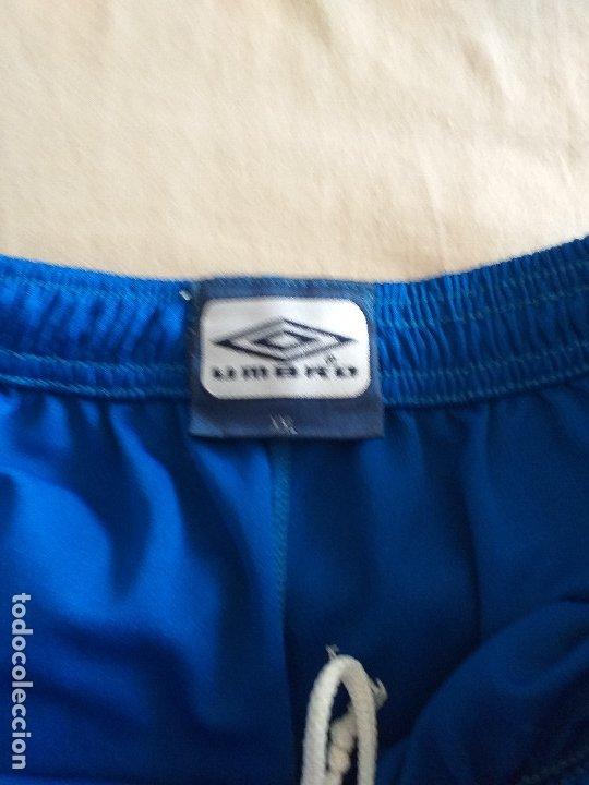 Coleccionismo deportivo: DEPORTIVO ALAVES: pantalon corto 1ª equipación de juego - Foto 2 - 178979228