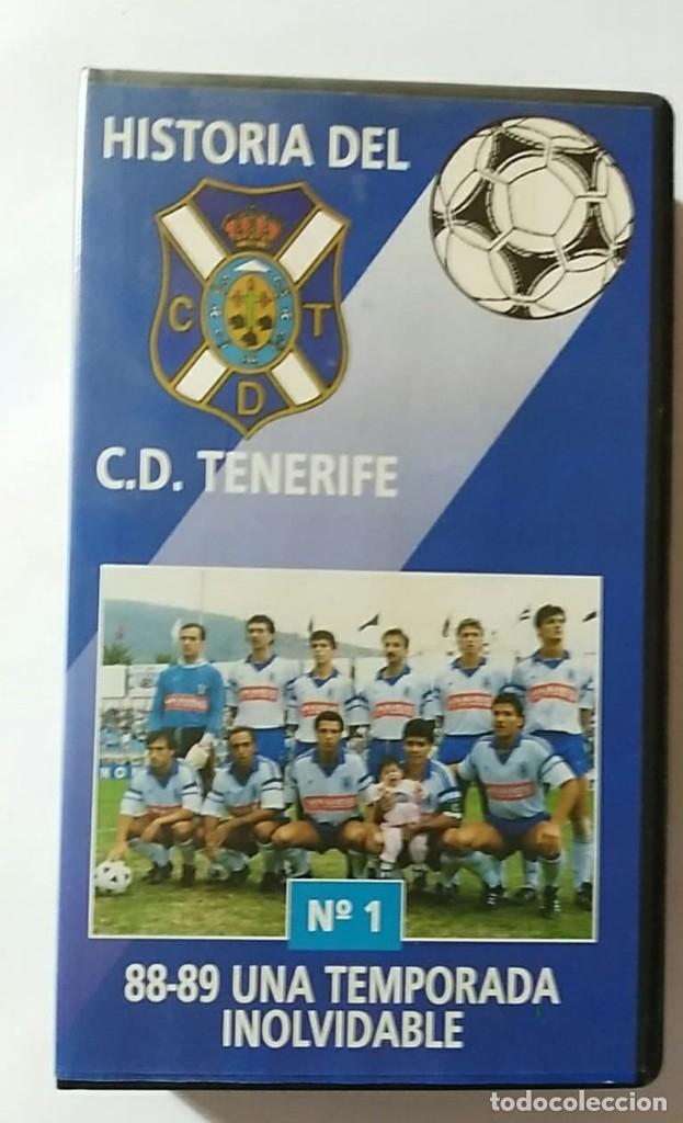 VHS HISTORIA DEL C.D.TENERIFE Nº1 88-89 UNA TEMPORADA INOLVIDABLE (Coleccionismo Deportivo - Material Deportivo - Fútbol)