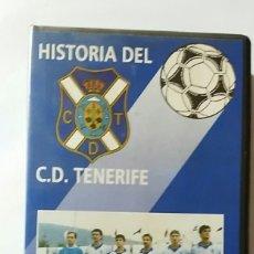 Coleccionismo deportivo: VHS HISTORIA DEL C.D.TENERIFE Nº1 88-89 UNA TEMPORADA INOLVIDABLE. Lote 179026088
