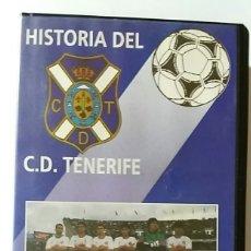 Coleccionismo deportivo: VHS HISTORIA DEL C.D.TENERIFE Nº5 92-93 EL SUEÑO DE LA UEFA. Lote 179027320