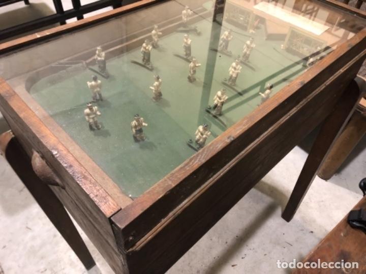 Coleccionismo deportivo: Futbolín . Madrid, años 40-50. - Foto 7 - 179337291