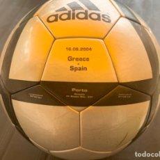 Coleccionismo deportivo: BALÓN ADIDAS AL ROTEIRO OFICIAL EURO 2004. Lote 179552677