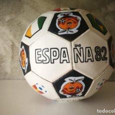 Coleccionismo deportivo: BALÓN MUNDIAL FÚTBOL ESPAÑA 82 NARANJITO. Lote 180232092