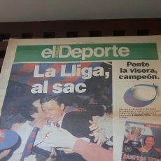 Coleccionismo deportivo: BARÇA CAMPEON LIGA 1991. Lote 181108827
