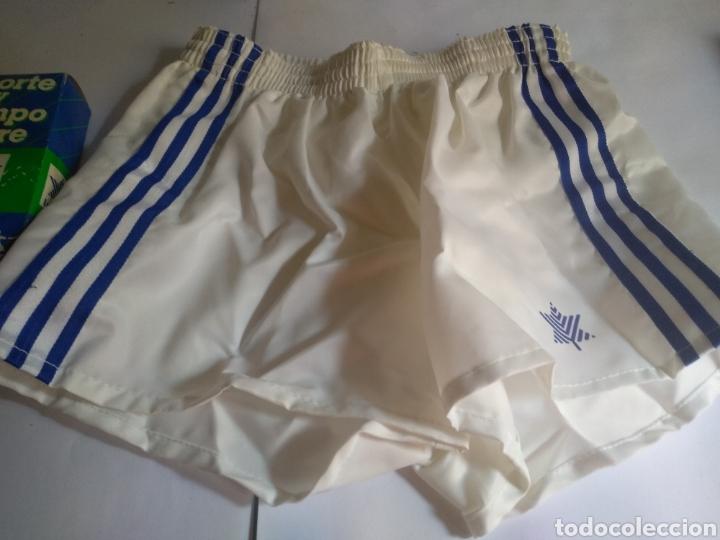 Coleccionismo deportivo: Pantalon corto vintage años 80 Luanvi talla 2 - Foto 3 - 181585131