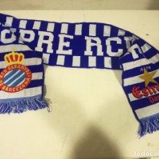 Coleccionismo deportivo: RCD ESPANYOL FUTBOL FOOTBALL BUFANDA SCARF. Lote 182799192