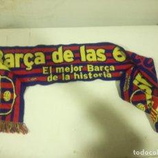 Coleccionismo deportivo: FC BARCELONA BUFANDA SCARF FOOTBALL FUTBOL. Lote 182803013