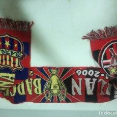 Coleccionismo deportivo: FC BARCELONA BUFANDA SCARF FOOTBALL FUTBOL. Lote 182803078