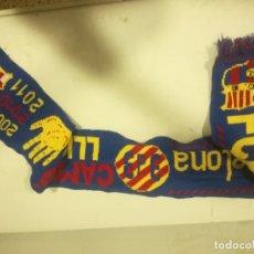 Coleccionismo deportivo: FC BARCELONA SPECIAL BUFANDA SCARF FOOTBALL FUTBOL. Lote 182803406