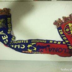 Coleccionismo deportivo: FC BARCELONA BUFANDA SCARF FOOTBALL FUTBOL. Lote 182803691