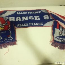 Coleccionismo deportivo: FRANCE 1998 MUNDIAL SCARF FOOTBALL . Lote 182803998