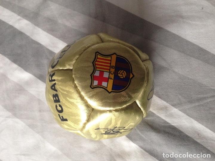 BALÓN BARCELONA FIRMADO (Coleccionismo Deportivo - Material Deportivo - Fútbol)
