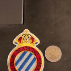 Coleccionismo deportivo: PARCHE ANTIGUO DEL RCD ESPAÑOL. Lote 183426523