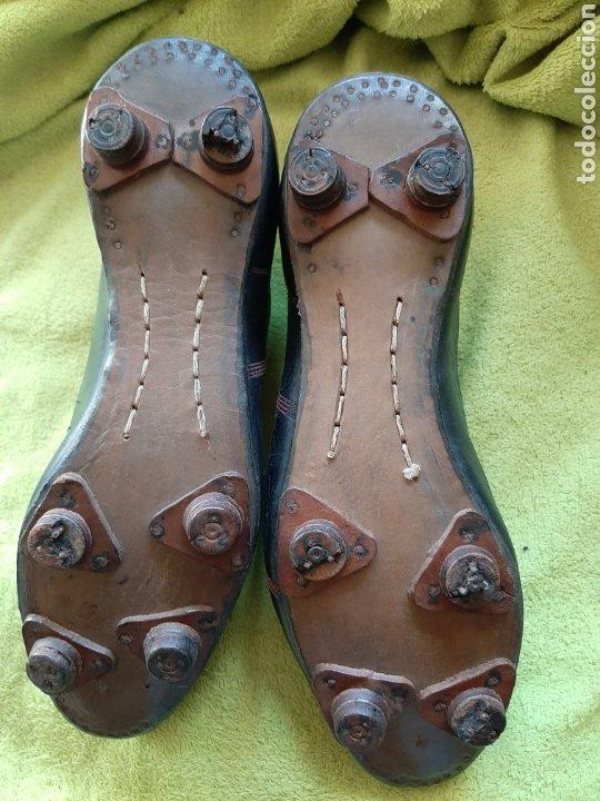 Coleccionismo deportivo: Antiguas botas de fútbol - Foto 4 - 183472112
