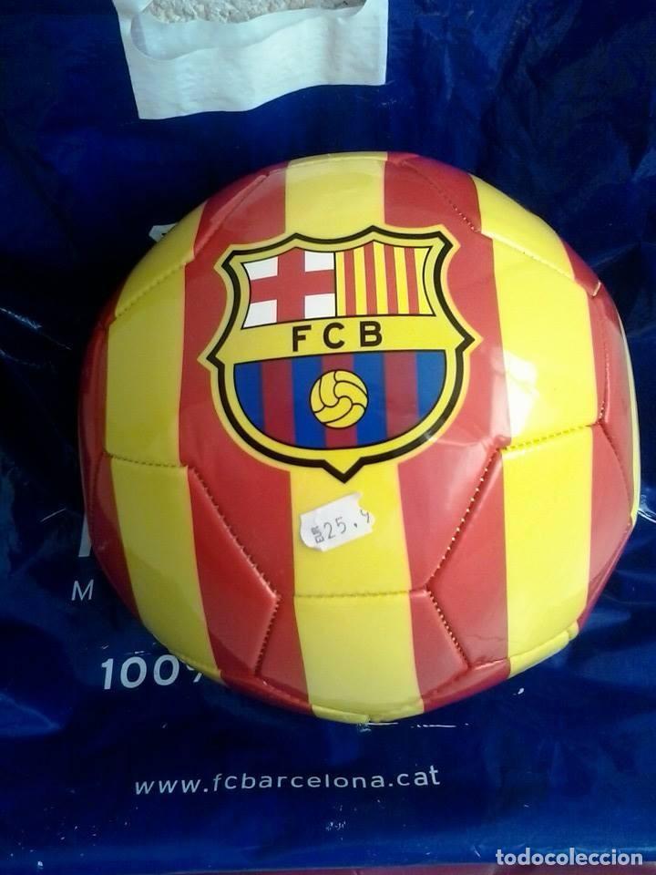 BALON DE FUTBOL. FC BARCELONA (Coleccionismo Deportivo - Material Deportivo - Fútbol)