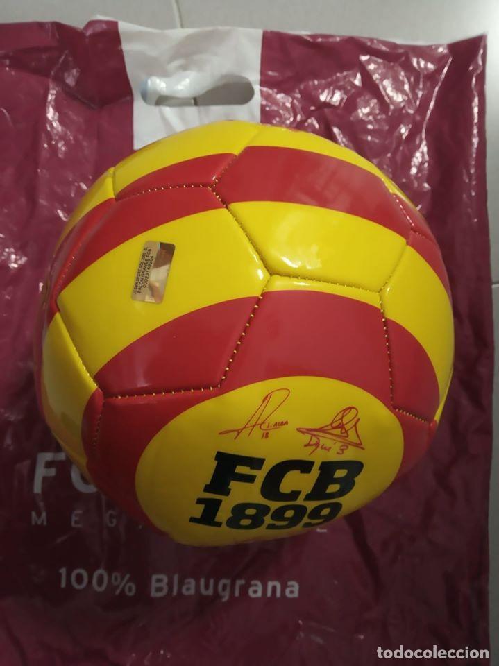 Coleccionismo deportivo: Balon de futbol. FC Barcelona - Foto 2 - 183505617