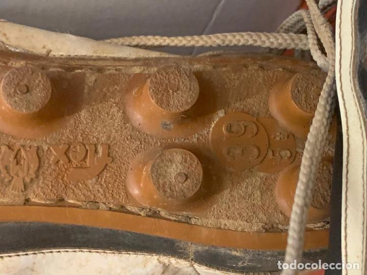 Coleccionismo deportivo: Antiguas botas de futbol, marca Flex Matollo, num. 39. ideal coleccionismo - Foto 7 - 184578011